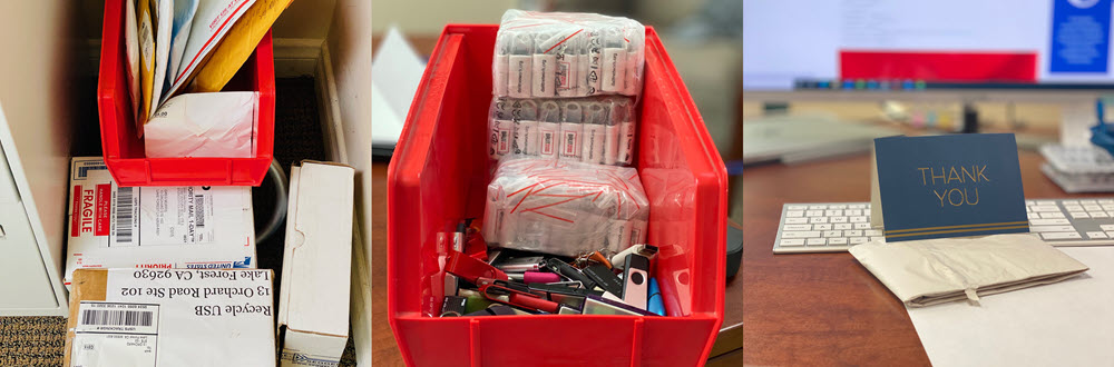dignity freedom network donates USB flash drives for USB recycling